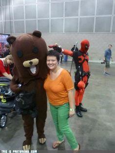 Deadpool is the Best Photobomber