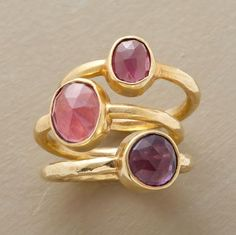 Looking for stacking rings... love these. One for each of us Baldwin girls?