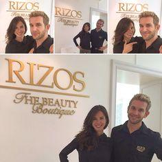La guapísima actriz Paula Prendes en RIZOS The Beauty Boutique!!!  #rizospeluqueros #madrid #hairsalon