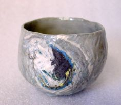 A beautiful cup that had already been sold.  Darn. Artist/shop is www.potterybyjolene.etsy.com Love her stuff!  I'm always looking in there!