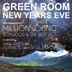 New Years Eve Square Flyer