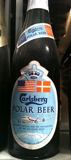 A beer to commemorate SAS's polar flight route.