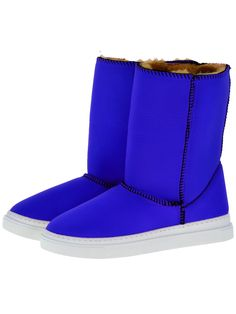 Everest Air Neo-Saks Adele boots. Scuba Neoprene Fabric, faux-fur lining, warm and comfort guaranteed.