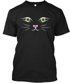 Kitty Face Shirt Black- LIMITED EDITION | Teespring