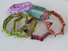 Tinyhorn bangles ( Kate McKinnon) CatrinaJewels: http://www.knoopje-ina.blogspot.com