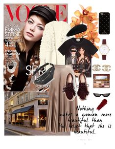 """autumn vibes"" by ayu-kencana-putri ❤ liked on Polyvore featuring Gucci, A.L.C., Alexander Wang, PAWAKA, Kate Spade, Chanel, Olivia Burton and Too Faced Cosmetics"