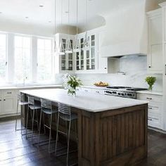 White Kitchen Cabinets With Oil Rubbed Bronze Hardware Transitional James Michael Howard