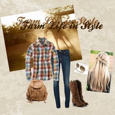 """""""Farm life in style"""" by pascogirls on Polyvore"""