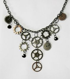 Image result for steampunk necklace
