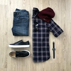 Men Casual Shirt Outfit 🖤 Very Attractive Casual Outfit Grid, Stylish Mens Outfits, Casual Outfits, Men Casual, Fashion Outfits, Fashion Styles, Casual Shirt, Fashion Trends, Men With Street Style, Mens Attire
