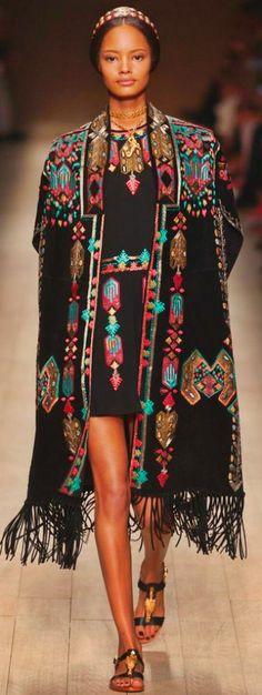 Valentino Go native this Summer with fringes & aztec patterns