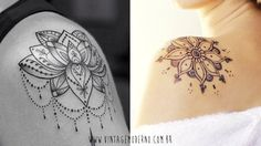 Vintage Moderno: Inspirações de tatuagem | Ombro