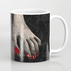 Artist Promo get $5 Off + Free Worldwide Shipping on EVERYTHING use THIS link: https://society6.com/hmdesignspl?promo=PH7J4NX8ZYG3  Available in 11 and 15 ounce sizes, our premium ceramic coffee mugs feature wrap-around art and large handles for easy gripping. Dishwasher and   microwave safe, these cool coffee mugs will be your new favorite way to consume hot or cold beverages. #sexy #erotic #art #naughty #kinky