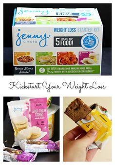 The Jenny Craig 5 Day Weight Loss Starter Kit at Walmart! | 10 ...