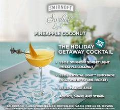 I'm bringing my guiltless pleasures to life with #SMIRNOFFSorbet