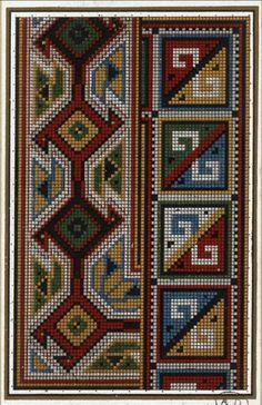 Gallery.ru / Фото #4 - старинные ковры и схемы для вышивки - SvetlanN