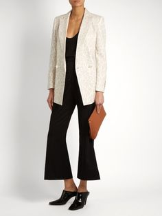 Varenne leopard-print blazer