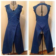 Process blog. Daenerys Targaryen. Game of Thrones. Season 3. Dress. Blue dress. Dragon scale dress. Astapor dress.