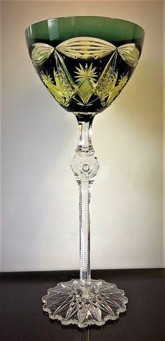 Val Saint-Lambert verre modèle 'Pluton' - Catalogue Cristaux de Fantaisie 1926 - H 40 cm.
