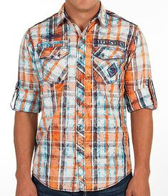 """Affliction Black Premium North & Soul Shirt"" www.buckle.com"