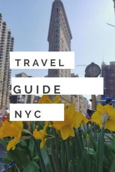 The ultimate travel guide to New York City, including the best restaurants, shopping, sight-seeing & more. #NYC #newyork #manhattan #travel #wanderlust #explore