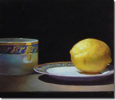 Jeffrey Hayes. Fragment: Teacup and Lemon No. 2
