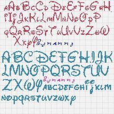pinterest punto croce alfabeto disney - Cerca con Google