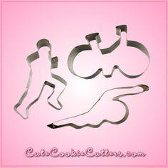 Triathlon Cookie Cutter Set