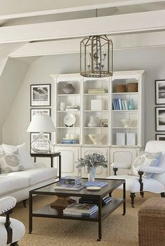 Coastal Style Creating the Hamptons Look Shelf Decor Ideas