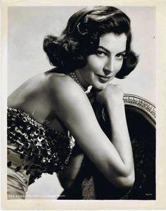 AVA GARDNER - , 1950 Ava Gardner