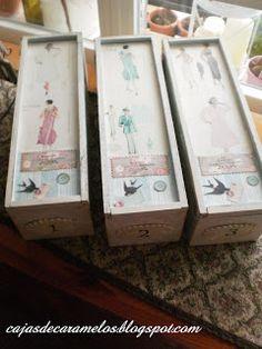 A raíz de la iniciativa de Cristinam de un Un Rincón de Mi de hacer unas cajas de costura empecé a darle vueltas al uso del color, a los c...