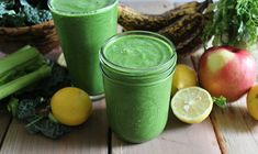 """The Stripped Green Smoothie by nutritionstripped: A high quality, nutrient dense, easy to digest green smoothie stripped from anything else but organic, raw vegetables, greens, and fruits. The Stripped Smoothie can be used as a """"base"""" for other ingredients to build upon. #Smoothie #Green #Healthy"""