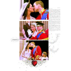 William And Kate <3, created by janeaustenaddict on Polyvore