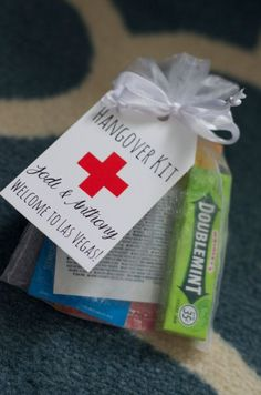 Customized Hangover Kit Tags by IzzyBopDesigns on Etsy, $0.70