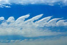 Kelvin-Helmholtz clouds (from WunderPhotographer CythiaSue) wunderground.com