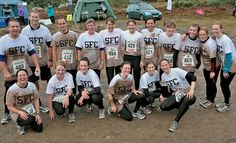 Large number of Surrey Fitness Camps members looking rather chuffed, tired, dirty and a bit too smiley after completing a Brutal 10km race. Members from all our sessions represented incuding Godalming, Cranleigh and Woking, Haslemere!   Surrey Fitness Camps: http://www.surreyfitnesscamps.com Find us on Facebook: http://www.facebook.com/surreyfitcamps Follow us on Twitter: http://twitter.com/TeamSurreyFit