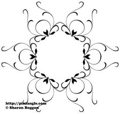 Free hand embroidery pattern