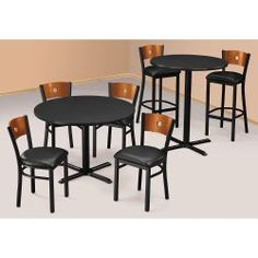 36 Round Bar Height Table - 44229 and more Office Tables