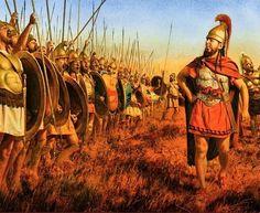 Hannibal exhortant ses troupes (Steve Noon)