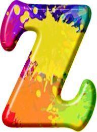 Oh My Alfabetos!: Alfabeto Hippy De Colores Y Letras ...