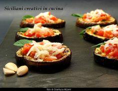Melanzane alla griglia con pesto alla trapanese e pecorino | SICILIANI CREATIVI IN CUCINA |