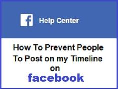 How Do I Stop People From Posting On My Timeline On Facebook? A simple steps on how to stop people from posting on own timeline. Open Facebook, Facebook Timeline, You Can Do, Are You Happy, Keep In Mind, Have Fun, Shit Happens, Learning, Simple