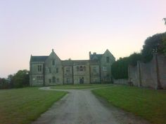 Annesley Hall - Looking up driveway. Considered most haunted place in UK