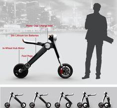 La contaminación y el aparcamiento son, posiblemente, los dos principales problemas de las zonas urbanas de todo el mundo. Para hacer las ciudades un lugar mejor para vivir, el diseñador Stuart Emmerson, ha diseñado un scooter eléctrico portátil que proporciona locomoción segura y sostenible ...