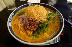 Chiang Mai Noodles (Kao Soi Gai)