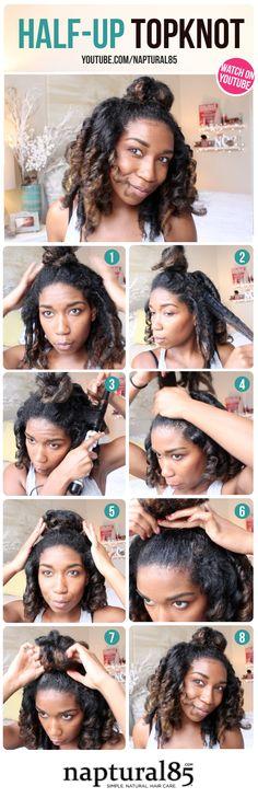 Naptural85 - Natural Hair Care Tips - Natural Hairstyles - Chic - Cute