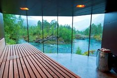 The house in ex machina movie - Juvet Hotel, Norway
