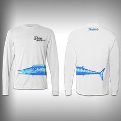 Fish Don't Bitch Wahoo - Performance Shirt - Fishing Shirt – SurfmonkeyGear
