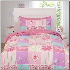 Girls Bedding Sets - check various designs and colors on Pretty Home