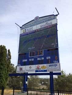 This fall at Ralph E. Davis Pioneer Stadium for football and soccer, UW-Platteville will have new state of the art scoreboards that include live video, replays and more.